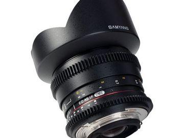 Lender: Samyang 14mm T3.1 VDSLR