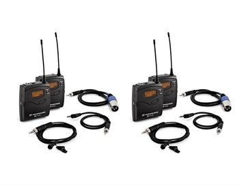2x Sennheiser G3/G4 wireless microphone kit