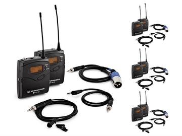 Lender: 4x Sennheiser G3/G4 wireless microphone kit