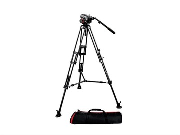 Lender: Manfrotto 546B tripod with 504HD head + bag