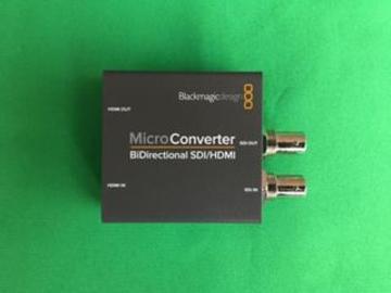 Lender: 1x Blackmagic Design Micro Converter BiDirectional HDMI/SDI for ATEM MINI