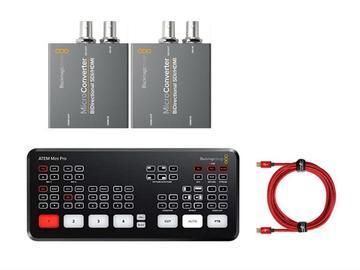 Lender: ATEM MINI PRO with SDI/HDMI converters x2 (BiDirectional)