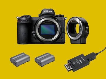Lender: Nikon Z6 + FTZ mirrorless camera Kit