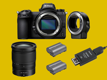Lender: Nikon Z6 + 24-70mm F4 + FTZ Mirrorless camera kit