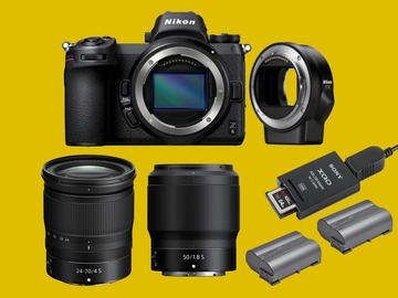 Lender: Nikon Z6 Twin Lens mirrorless camera Kit + FTZ