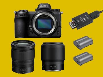 Lender: Nikon Z6 Twin lens mirrorless camera kit