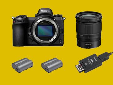 Lender: Nikon Z6 + 24-70mm F4 mirrorless camera Kit
