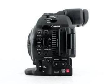Lender: Canon C100 mk2 Cinema Camera body