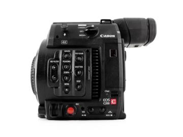 Lender: Canon C200 camera body