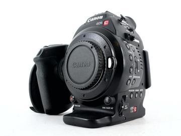 Lender: Canon C100 cinema camera