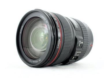 Lender: Canon 24-105 mm F4 IS USM zoom lens + lens hood (1st)
