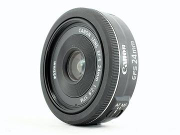 Lender: Canon EF-S 24mm F2.8 STM lens