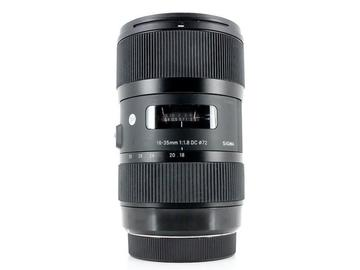 Lender: Sigma 18-35mm f/1.8 DC HSM ART, Canon EF-S Fit