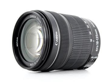 Lender: Canon EF-S 18-135mm f/3.5-5.6 IS STM zoom lens