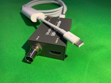 Lender: UltraStudio Mini Recorder with TB3 converter