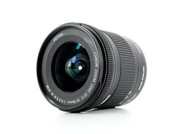 Lender: Canon EF-S 10-18mm f/4.5-5.6 IS STM lens