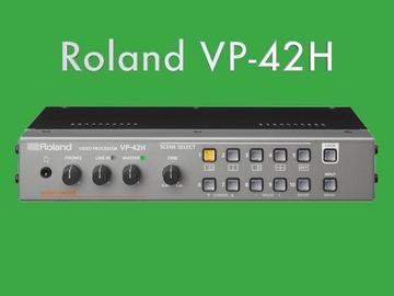 Lender: Roland VP-42H Switcher / Video Processor (Scene based)