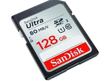 Lender: 512 GB SD card (4x 128 GB) SanDisk Ultra Class 10 SD card