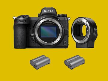 Lender: Nikon Z6 II (Mark II) + FTZ Mirrorless camera kit