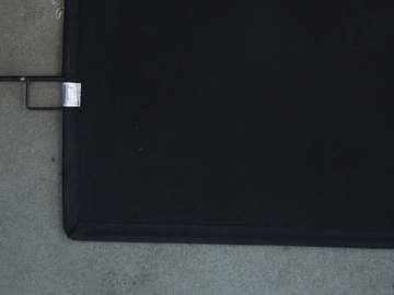 Lender: Avenger Solid Black Flag 24'' X 36''