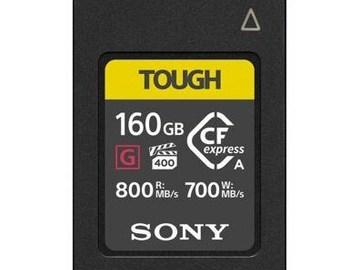 Lender: CFexpress Type A 160GB 800MB/s inkl. kortlæser