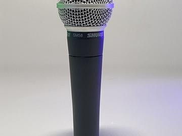 Lender: Shure SM58 håndmikrofon