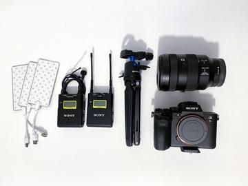 Lender: Blogger PAKKE med A7SIII kamera, lækker optik og alt hvad du ellers skal bruge