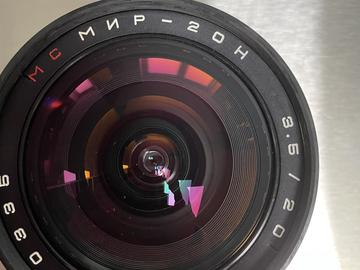 Lender: IRONGLASS MIR-20M 20mm F3.5