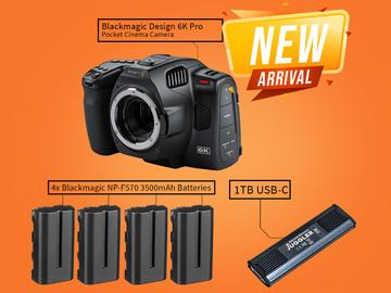 Lender: Blackmagic 6k pro - BODY - Pocket Cinema Camera