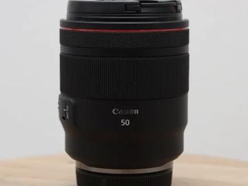 Lender: Canon RF 50MM F/1.2L USM Prime Lens