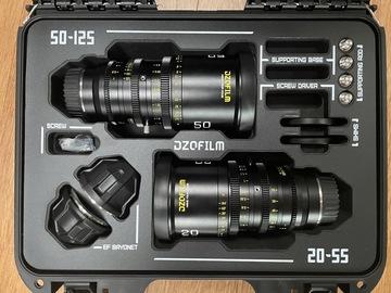 Lender: DZO Pictor Zoom 20-55 & 50-125