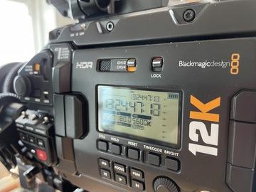 Lender: Blackmagic URSA Mini Pro 12K