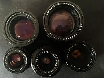 Lender: Leica R sæt